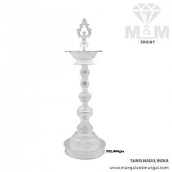 Pristine Silver Fancy Kuthu...