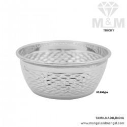 Gentle Silver Antique Bowl