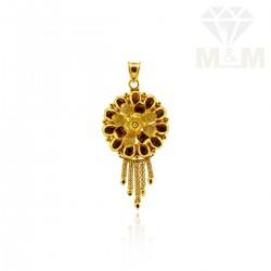 Seductive Gold Fancy Pendant