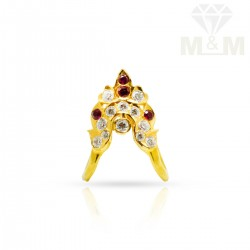 Attractive Gold Fancy Stone...