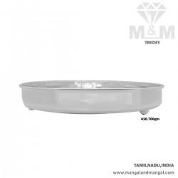 Peerless Silver Fancy Plate