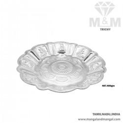 Ubiquitous Silver Fancy Plate