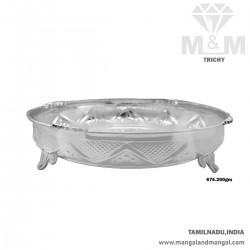 Distinction Silver Fancy Plate