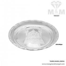 Flawless Silver Fancy Plate