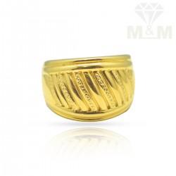 Serene Gold Casting Ring
