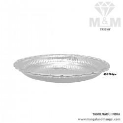Tremendous Silver Fancy Plate