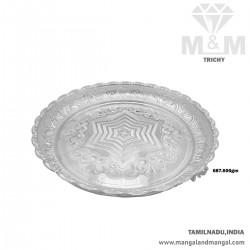 Optimum Silver Fancy Plate