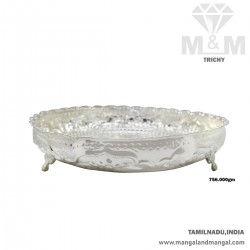 Handsome Silver Fancy Plate