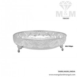 Virtuosic Silver Fancy Plate