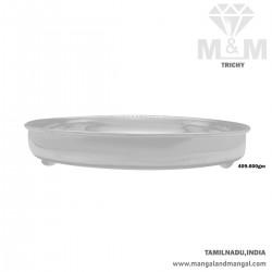 Culture Silver Fancy Plate