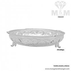 Traditions Silver Fancy Plate