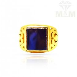 Masterful Gold Stone Ring