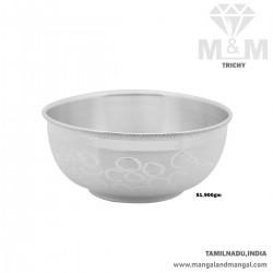 Enchanting Silver Fancy Bowl