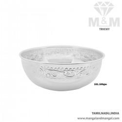 Good Looking Silver Fancy Bowl