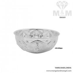 Wonderful Silver Fancy Bowl