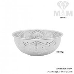 Elegance Silver Fancy Bowl