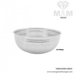 Sweetest Silver Fancy Bowl