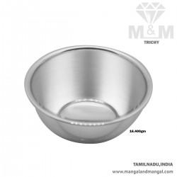 Auspicious Silver Fancy Bowl