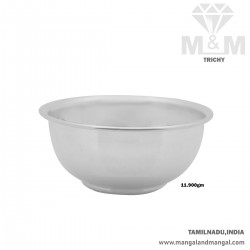 Excellence  Silver Fancy Bowl
