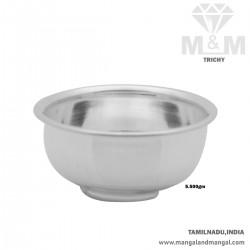 Niceness Silver Fancy Bowl