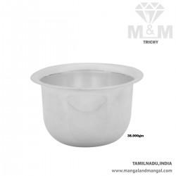 Amiably Silver Fancy Bowl