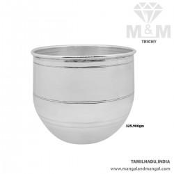 Artful Silver Fancy Bowl