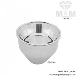 Captivate Silver Fancy Bowl