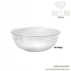 Popular Silver Fancy Bowl