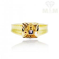 Awesome Gold Lord Balaji Ring