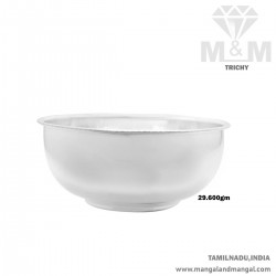 Traditional Silver Fancy Bowl