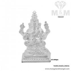 Dreamy Silver Lord Ganesha...