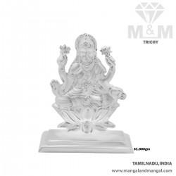 Exotic Silver Lord Lakshmi...