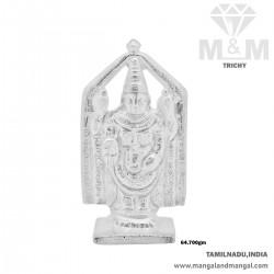Famous Silver Lord Balaji Idol