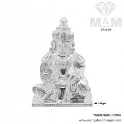 Fine Silver Kubera Idol