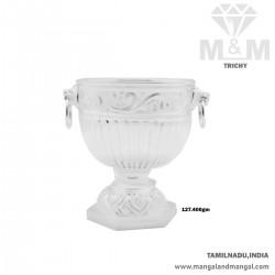 Glorious Silver Fancy Bowl
