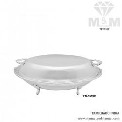 Incredible Silver Fancy Dish