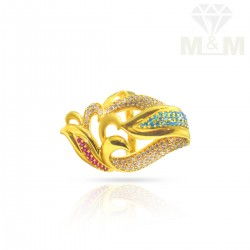 Delectable Gold Fancy Stone...