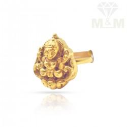 Wonderful Gold Nagas Ring