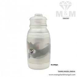 Stunning Silver Feeding Bottle