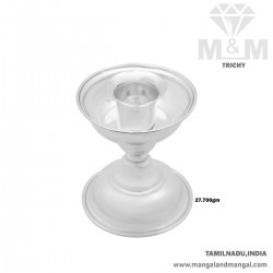 Perfection Silver Candle Stand