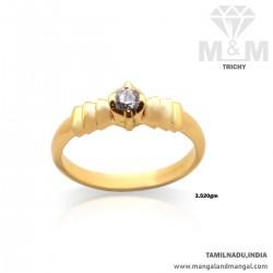 Sumptous Gold Casting Ring