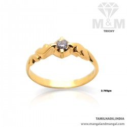 Amiably Gold Casting Ring