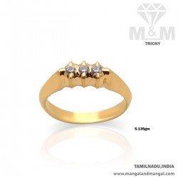 Amiable Gold Casting Ring