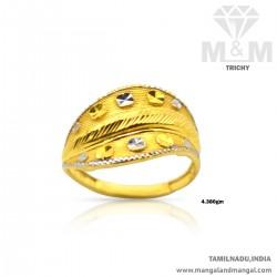 Wondrous Gold Women Fancy Ring