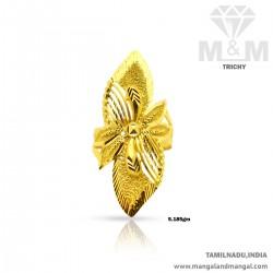 Elegance Gold Women Fancy Ring