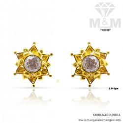 Auspicious Gold Women Stone...