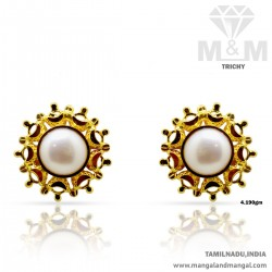 Vivacious Gold Women Stone...