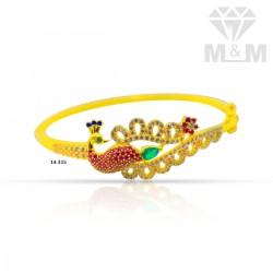 Elegance Gold Peacock Bracelet