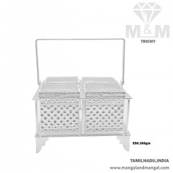 Great Silver Fancy Candy Stand