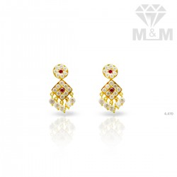 Prestigious Gold Fancy Earring